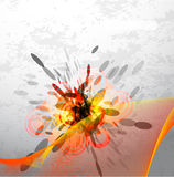Vector abstract explosion background Royalty Free Stock Photos