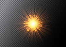 Vector abstract explosion background. Firework element isolated on transparent. Vector abstract explosion background. Firework element isolated on transparent Royalty Free Stock Photos