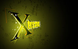 Vector abstract extreme grunge design background Royalty Free Stock Photo
