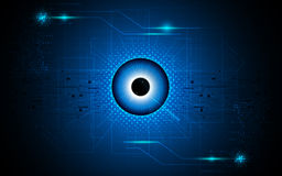Free Vector Abstract Eye Focus Vision Tech Sci Fi Concept Background Royalty Free Stock Photo - 60901295