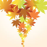 vector abstract fall background Royalty Free Stock Images