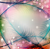 Vector abstract festive background Stock Photography