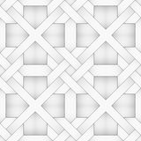 Vector abstract floor geometric background - seamless halftone b. Ack and white diagonal parquet pattern. EPS8 Stock Image