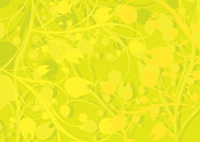 Vector Abstract floral Background. Stock Photo
