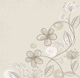 vector abstract floral background Royalty Free Stock Photography