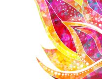 Vector abstract floral background. EPS 10 Royalty Free Stock Images