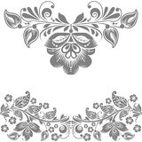 Vector abstract floral design elements Royalty Free Stock Photography