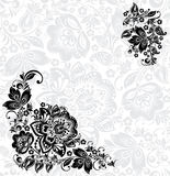 Vector abstract floral design elements Stock Photography
