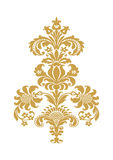 Vector abstract flower gold element design  Stock Images
