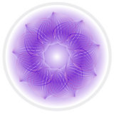 Vector abstract flower Stock Image