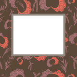 Vector abstract frame Royalty Free Stock Photo