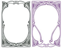 Vector abstract framework from the bound flowers and plants for decoration and design Royalty Free Stock Photo