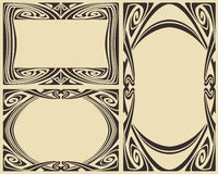 Vector abstract framework Royalty Free Stock Image