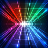 Vector abstract future technology, illustration background Royalty Free Stock Photos
