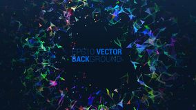 Vector abstract futuristic background royalty free illustration