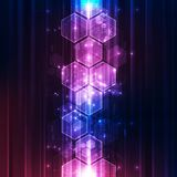 Vector Abstract futuristic high speed, Illustration high digital technology colorful background concept. Innovation graphic design royalty free illustration