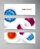 Vector abstract gem and blue ice Royalty Free Stock Images