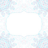 Vector Abstract Gentle Frame Royalty Free Stock Photo