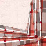 Vector abstract geometric background, modern style illustration. Royalty Free Stock Photo