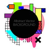 Vector Abstract geometric background. Modern and stylish Royalty Free Illustration