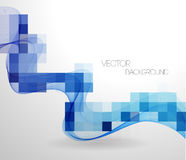 Vector Abstract geometric background with mosaic Stock Photo