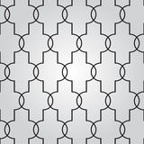 Vector abstract geometric background with techno ornament Royalty Free Stock Photo