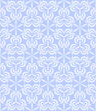 Vector abstract geometric background with techno ornament Stock Photography