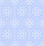 Vector abstract geometric background with techno ornament Royalty Free Stock Image