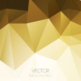 Vector abstract geometric background with triangle Stock Images