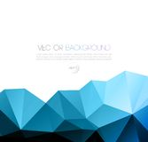 Vector abstract geometric background with triangle Royalty Free Stock Images