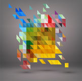 Vector abstract, geometric element, Modern minimalist design. Bu Royalty Free Stock Photo