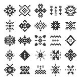 Vector abstract geometric elements Royalty Free Stock Image