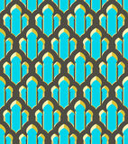 Vector abstract geometric ethnic ornament. Vector abstract geometric background. Based on ethnic ornaments. Elegant background for cards, invitations etc vector illustration