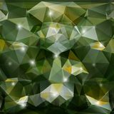 Vector abstract geometric green background Royalty Free Stock Photography
