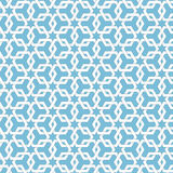 Vector abstract geometric islamic background. Based on ethnic muslim ornaments. Intertwined paper stripes. Stock Photography