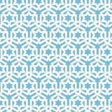 Vector abstract geometric islamic background. Based on ethnic muslim ornaments. Intertwined paper stripes. Royalty Free Stock Image