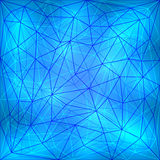 Vector abstract geometric lattice Stock Images