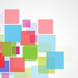 Vector Abstract geometric shape Stock Photography
