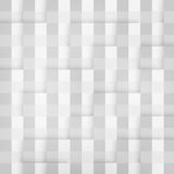 Vector Abstract geometric shape from gray cubes Stock Images