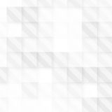 Vector Abstract geometric shape from gray cubes Royalty Free Stock Image