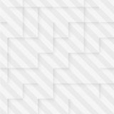 Vector Abstract geometric shape from gray cubes Stock Photos