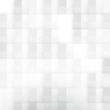 Vector Abstract geometric shape from gray cubes Stock Photo