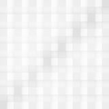 Vector Abstract geometric shape from gray cubes Stock Image