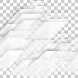 Vector Abstract geometric shape from gray diagonal romb. Stock Images