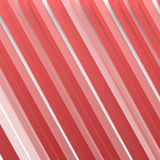 Vector Abstract geometric shape from red Royalty Free Stock Photo