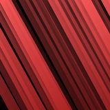 Vector Abstract geometric shape from red Royalty Free Stock Images