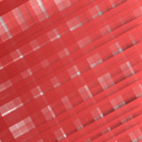 Vector Abstract geometric shape from red Royalty Free Stock Photos