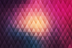 Vector Abstract Geometrical Hipster Background Stock Photography