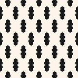 Vector abstract geometrisch naadloos patroon Herhaal ontwerp voor drukken, decor, verpakkend document stock illustratie