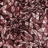 Vector abstract geometrisch naadloos patroon van Stock Afbeelding